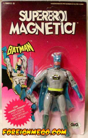 MOC GIG Mego Batman Magnetic figure