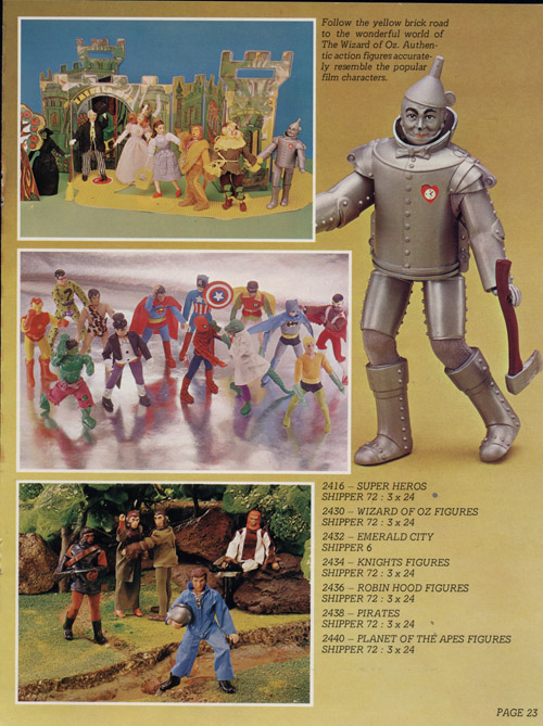 Toltoys 1975 catalog